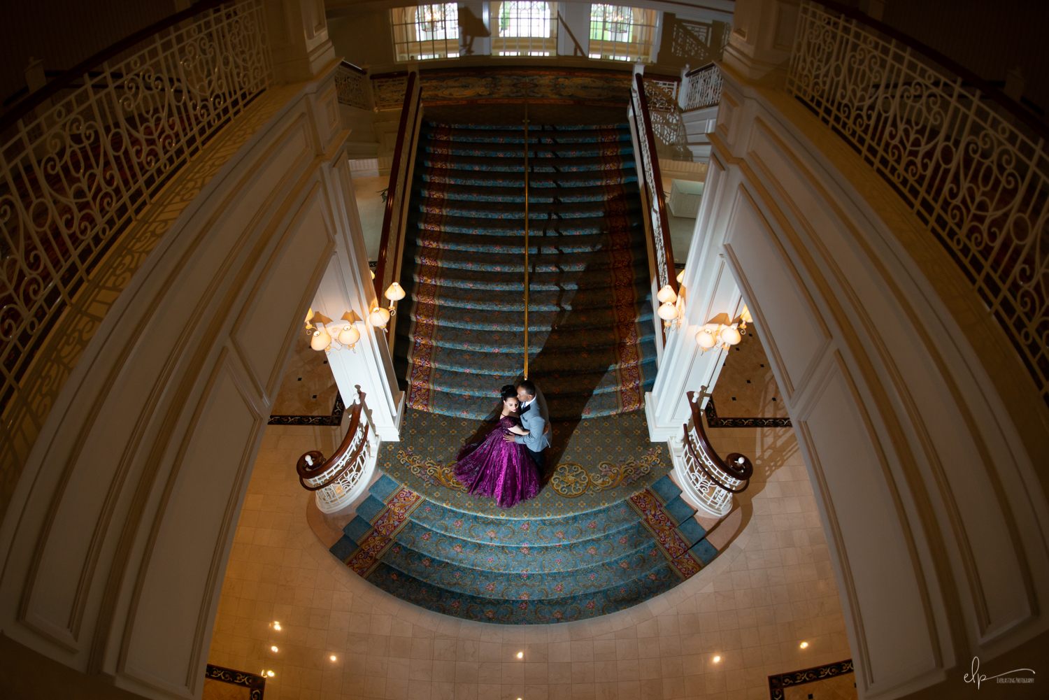 Engagement session locations at disney's grand floridian resort
