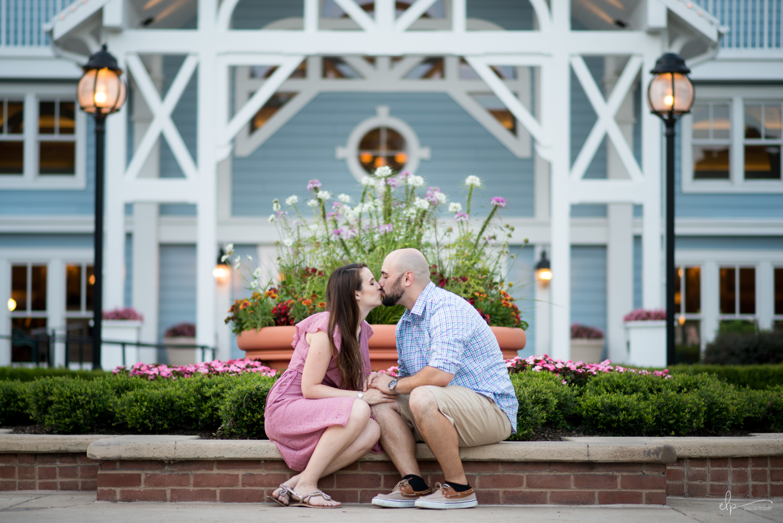 Engagement photo ideas at disneys beach club