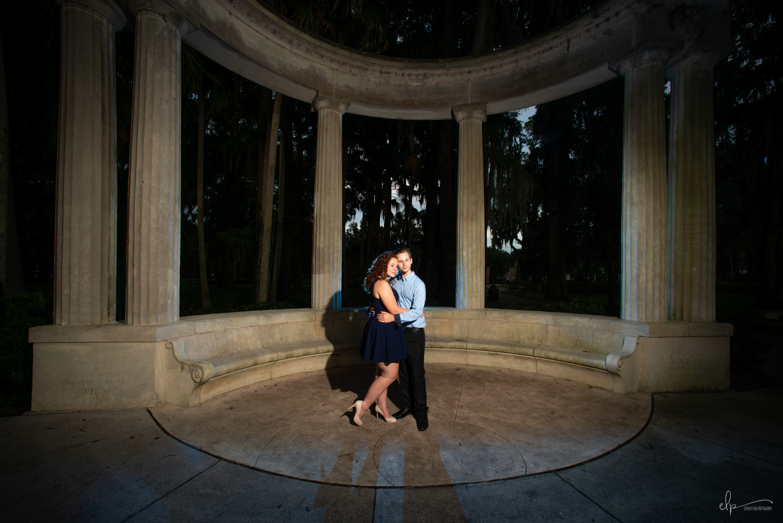 Kraft Azalea Gardens Engagement Photographer