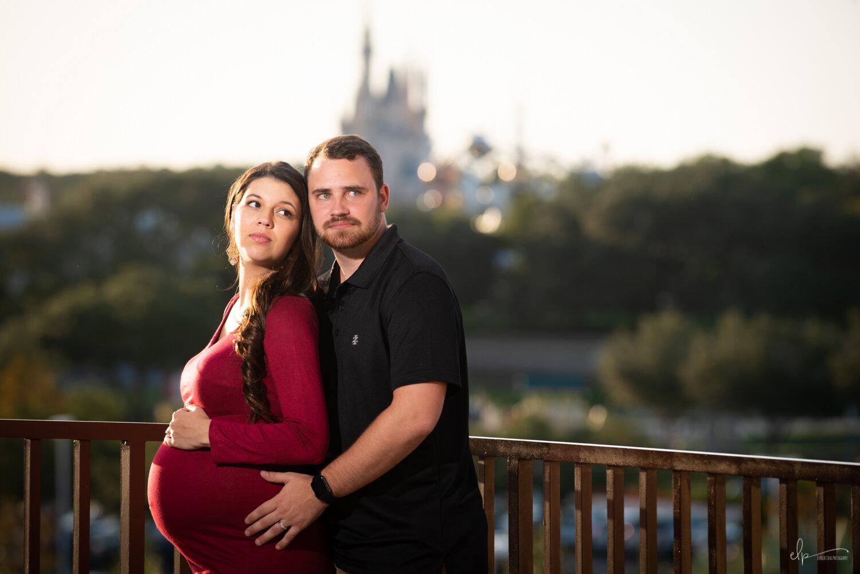 Maternity Photos At Disney's Contemporary Resort