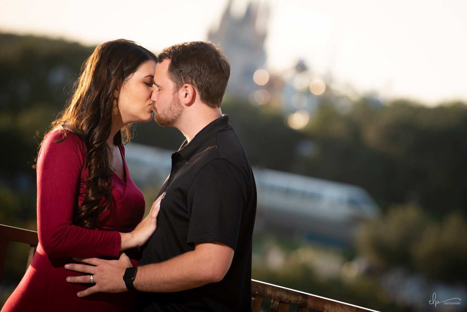 Maternity Photo Session At Disney's Contemporary