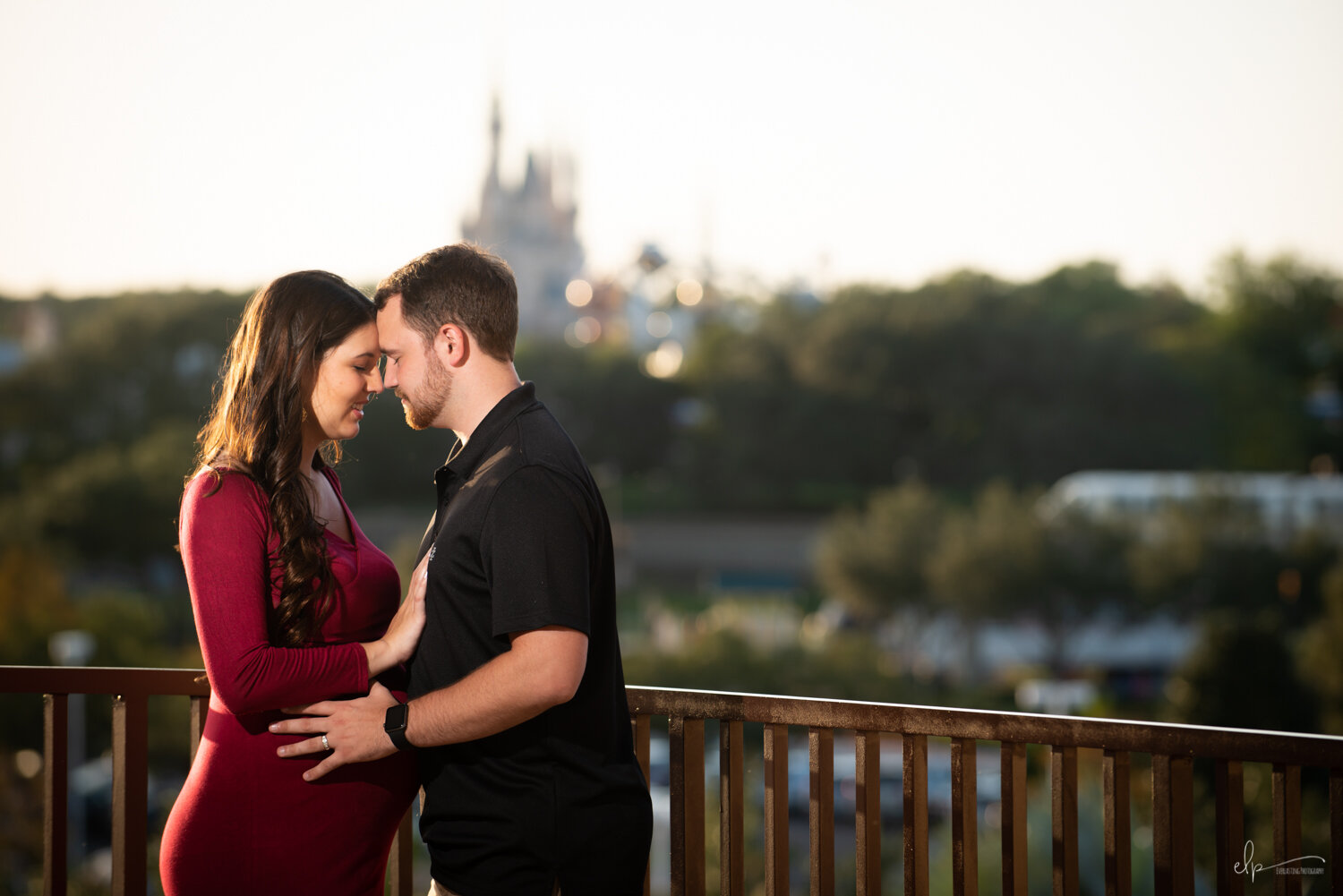 Maternity Portrait Session At Disney's Contemporary Resort