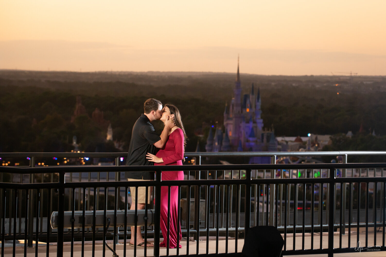 Engagement Portrait Photographer At Disney's Contemporary Resort
