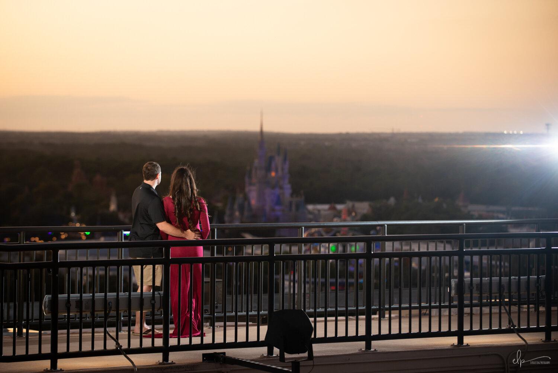 Maternity Photographer At Disney's Contemporary Resort