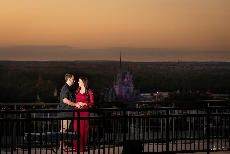 Maternity Photography At Disney's Contemporary Resort