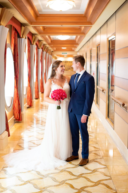 Wedding photography on disney cruise line
