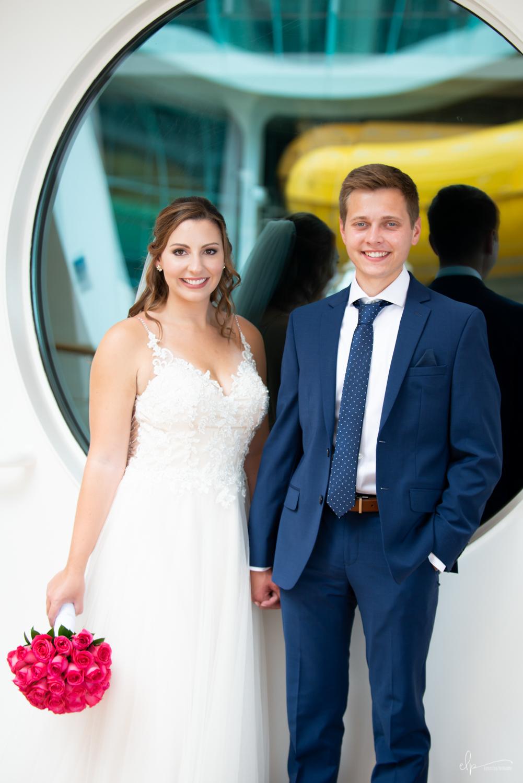 wedding photographs on disney cruise line