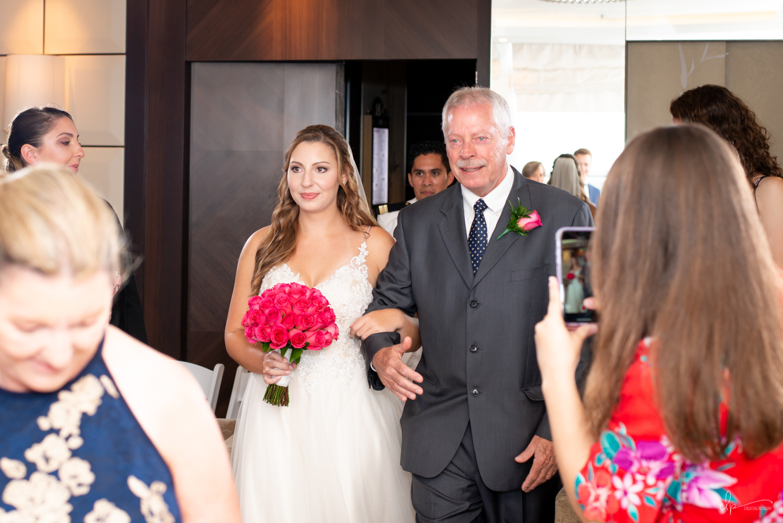 outlook lounge wedding portraits on disney cruise