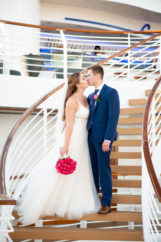 wedding photos on disney dream cruise