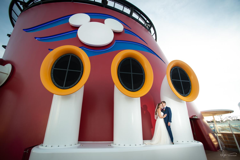 disney dream wedding photos on disney cruise line