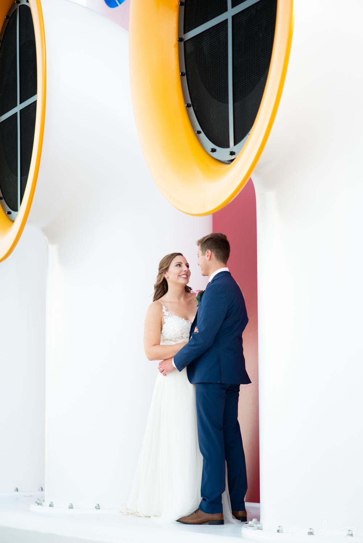 wedding portraits on disney dream