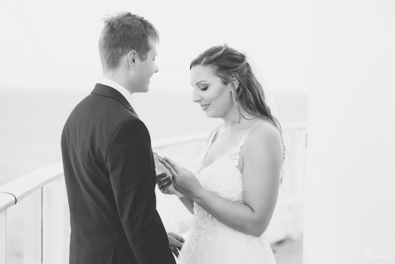 wedding vow photography on disney cruise line