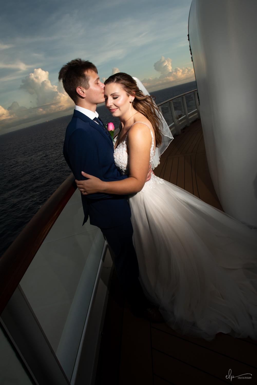 wedding photographer on disney cruise