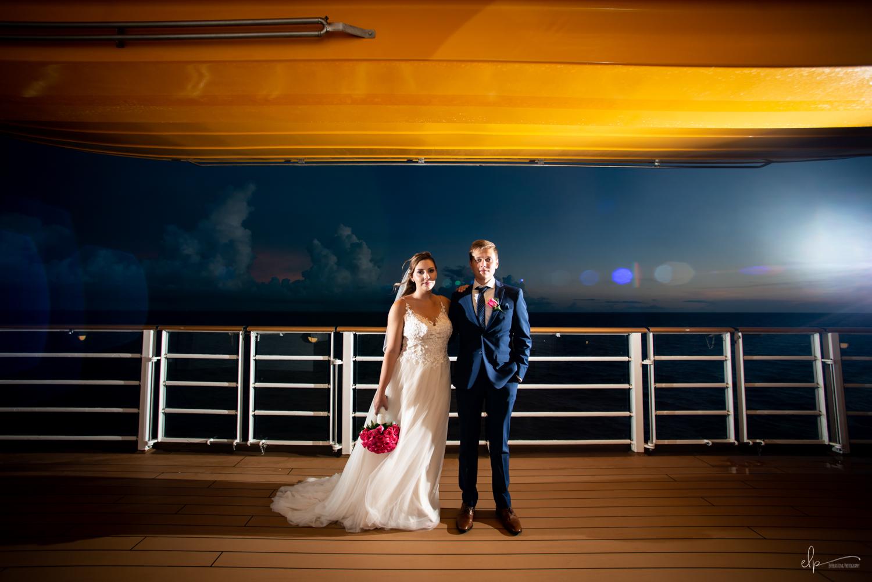 wedding photography on disney dream cruise