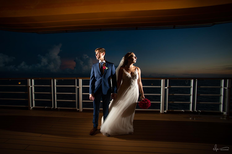 wedding photographer on disney dream cruise line