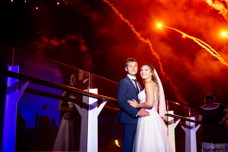 fireworks wedding photos on disney cruise line