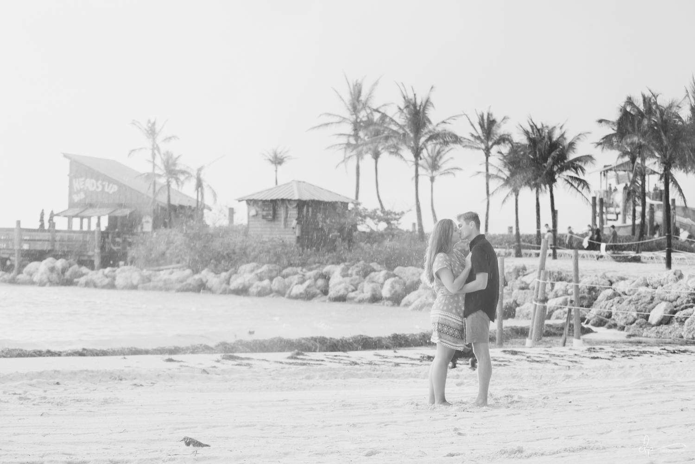 rain wedding photography on disney's castaway cay