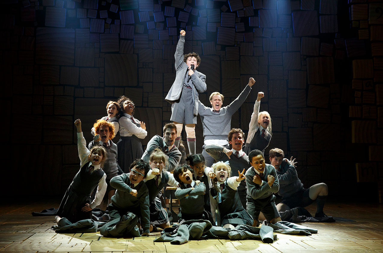 Matilda - Original Broadway company of the West End hit