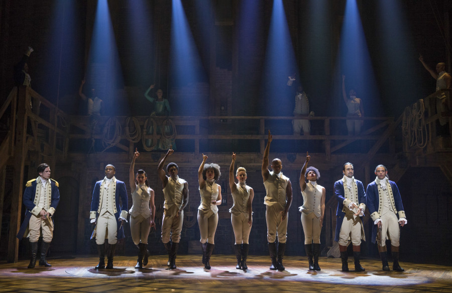 Hamilton - Originating the hit from workshop to Broadway