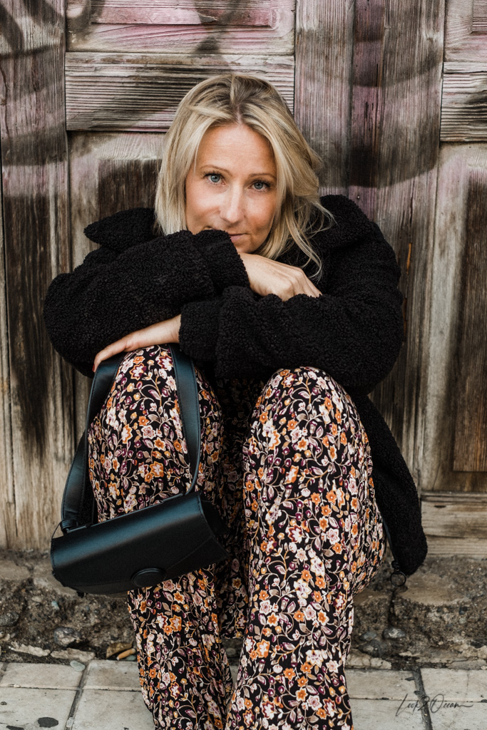 My Back-In-Winter-Look And How To Style A Floral Jumpsuit In Winter