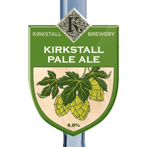 Kirkstall Pale Ale - 4.0%Floral and malty, medium body with a balanced finish. Fresh malt and hop aroma lead to a satisfyingly bitter finish, a wonderfully golden session beerClick here for more info on Kirkstall Brewery