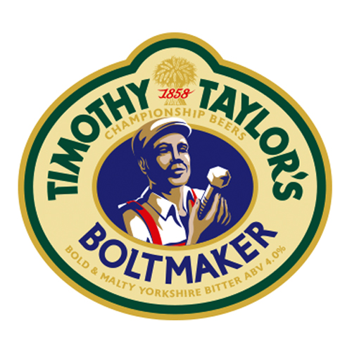 Boltmaker - 4.0%Full bodied, really smooth well balanced beer with a full measure of maltiness and hoppy aroma. With a citrus, fruity, spicy hop smell.Click here for more info on Timothy Tailor