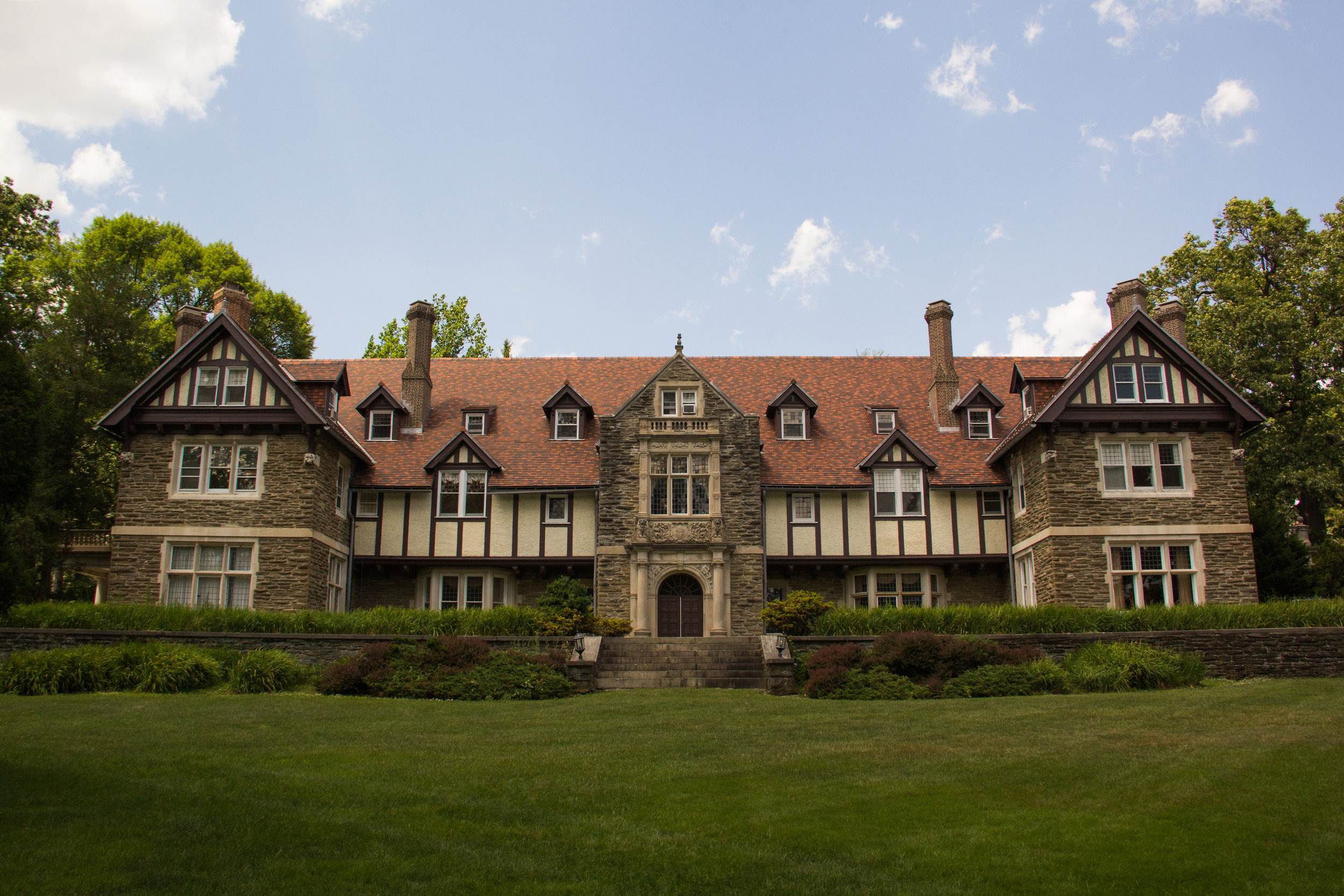 The historic Woodcrest Mansion