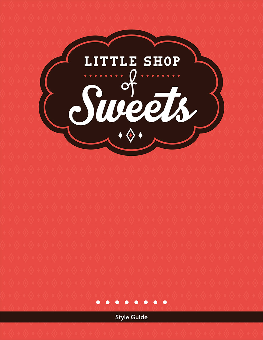 Little Shop of Sweets Identity