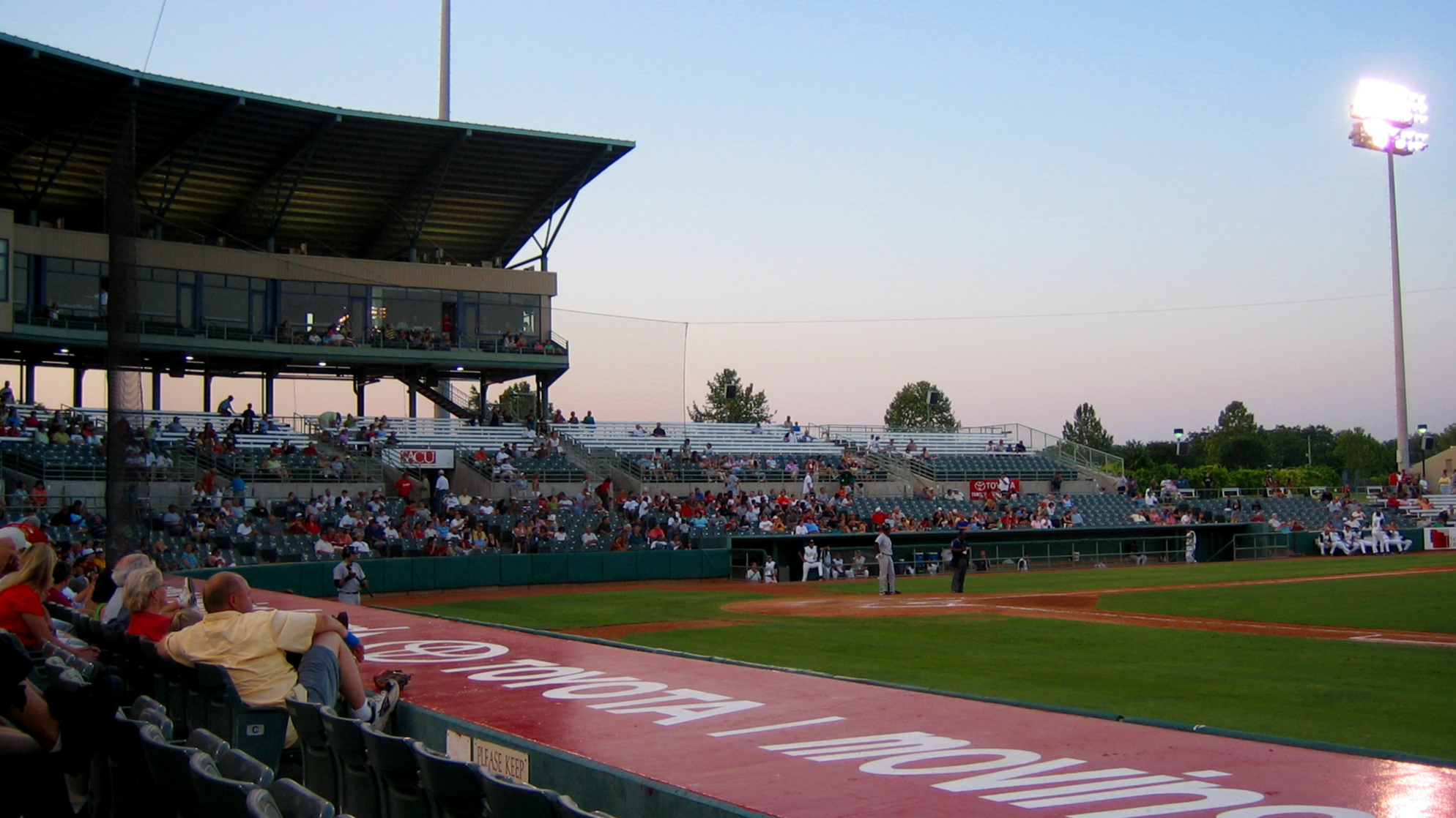 Nelson Wolffe Stadium, current home of the San Antonio Missions in 2006)