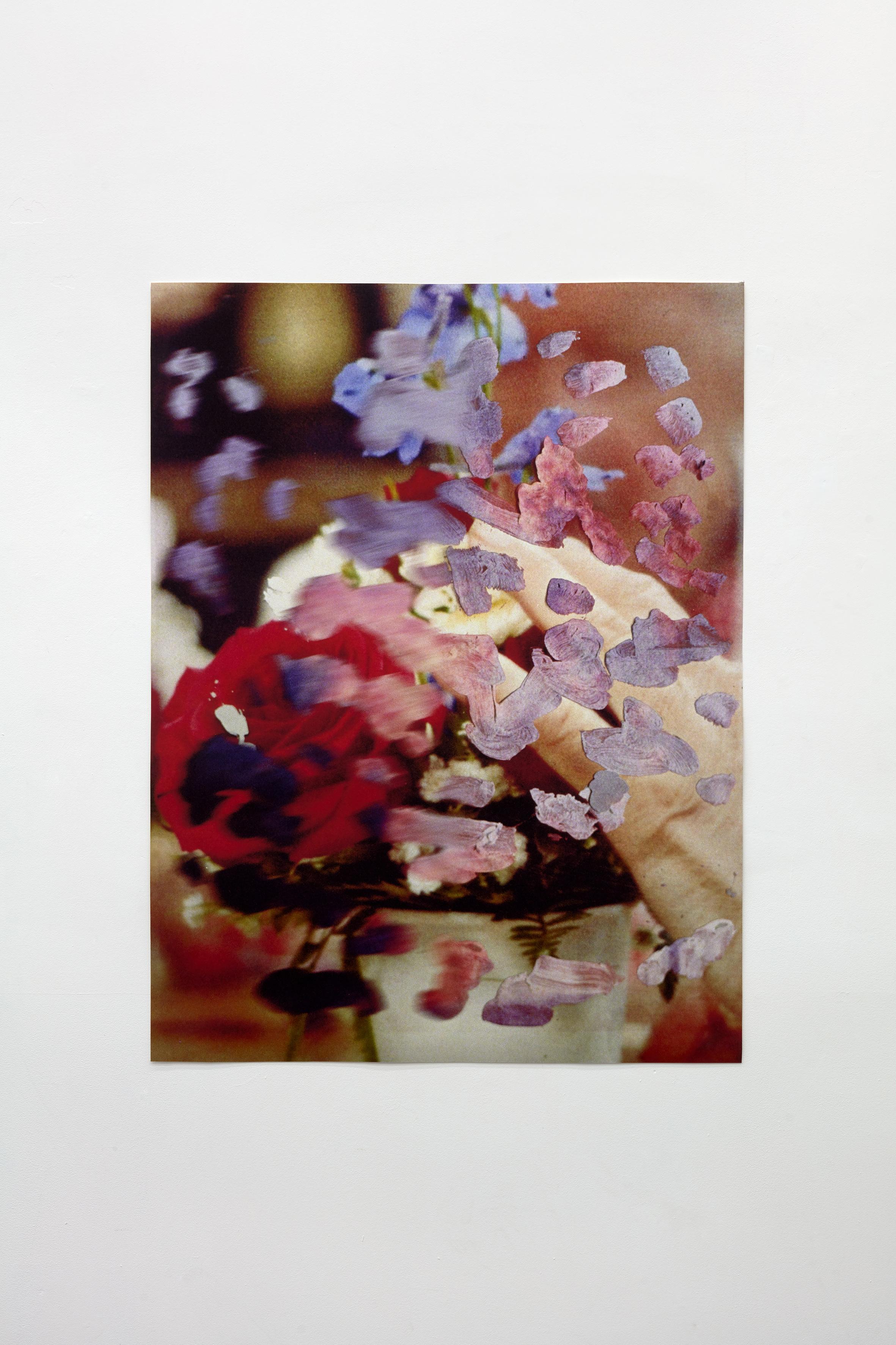 Flower Arrangement  2018  101x134cm  pigment print on german etching paper.