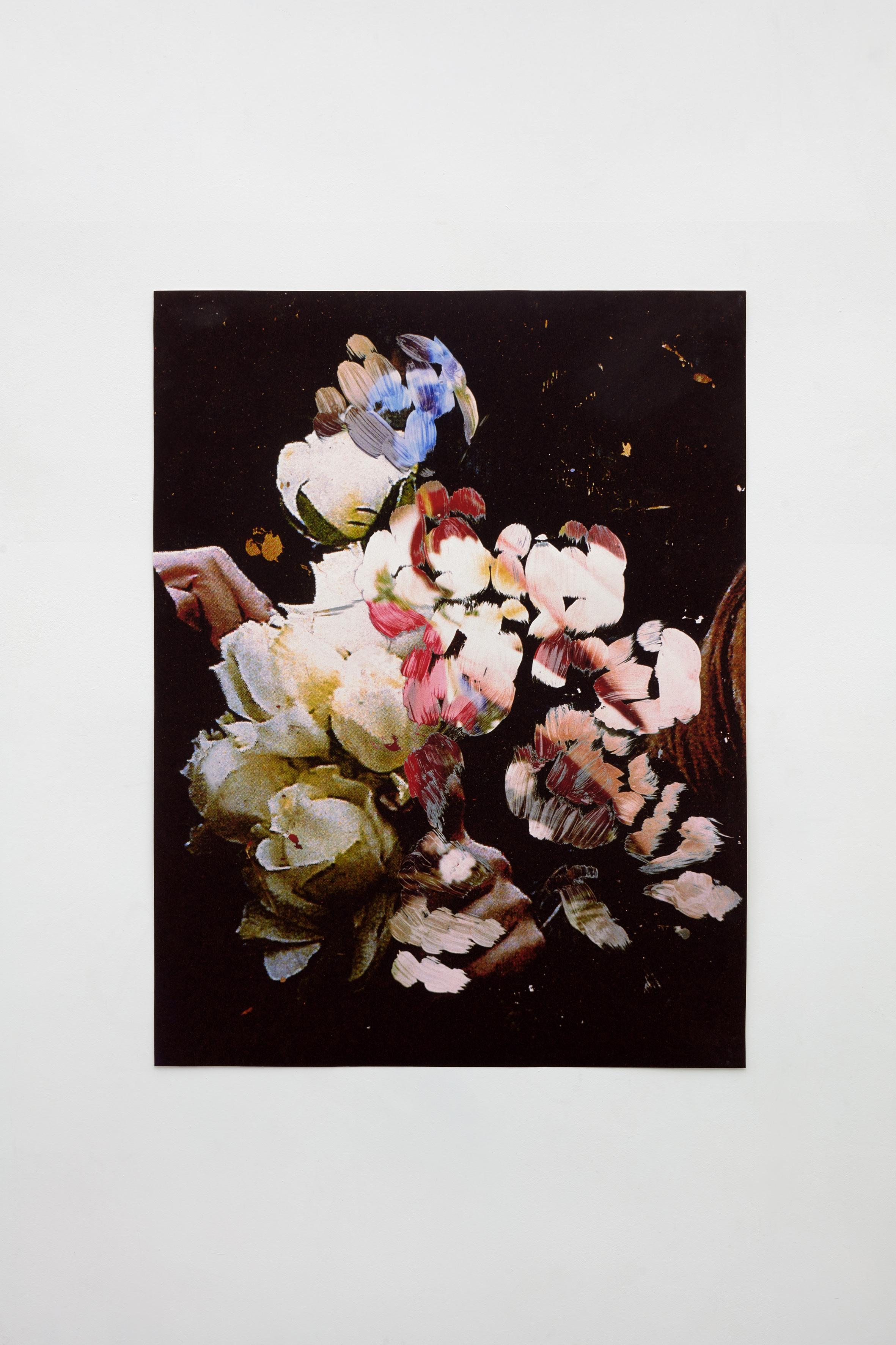 Rose in the Dark  2018  101x134cm  pigment print on german etching paper
