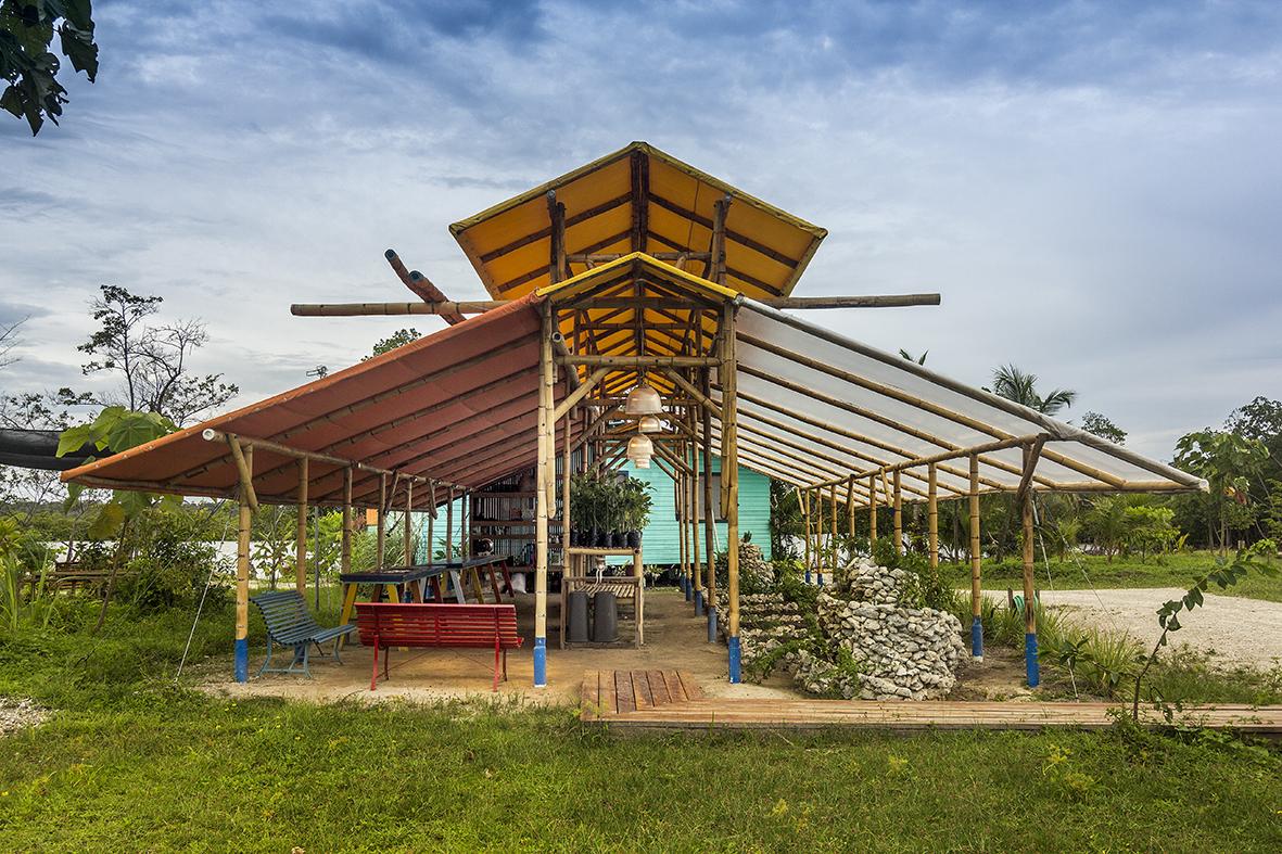 THE ESTATE - • Fish Farm• Vegetable Farm• Greenhouse• Fruit Farm