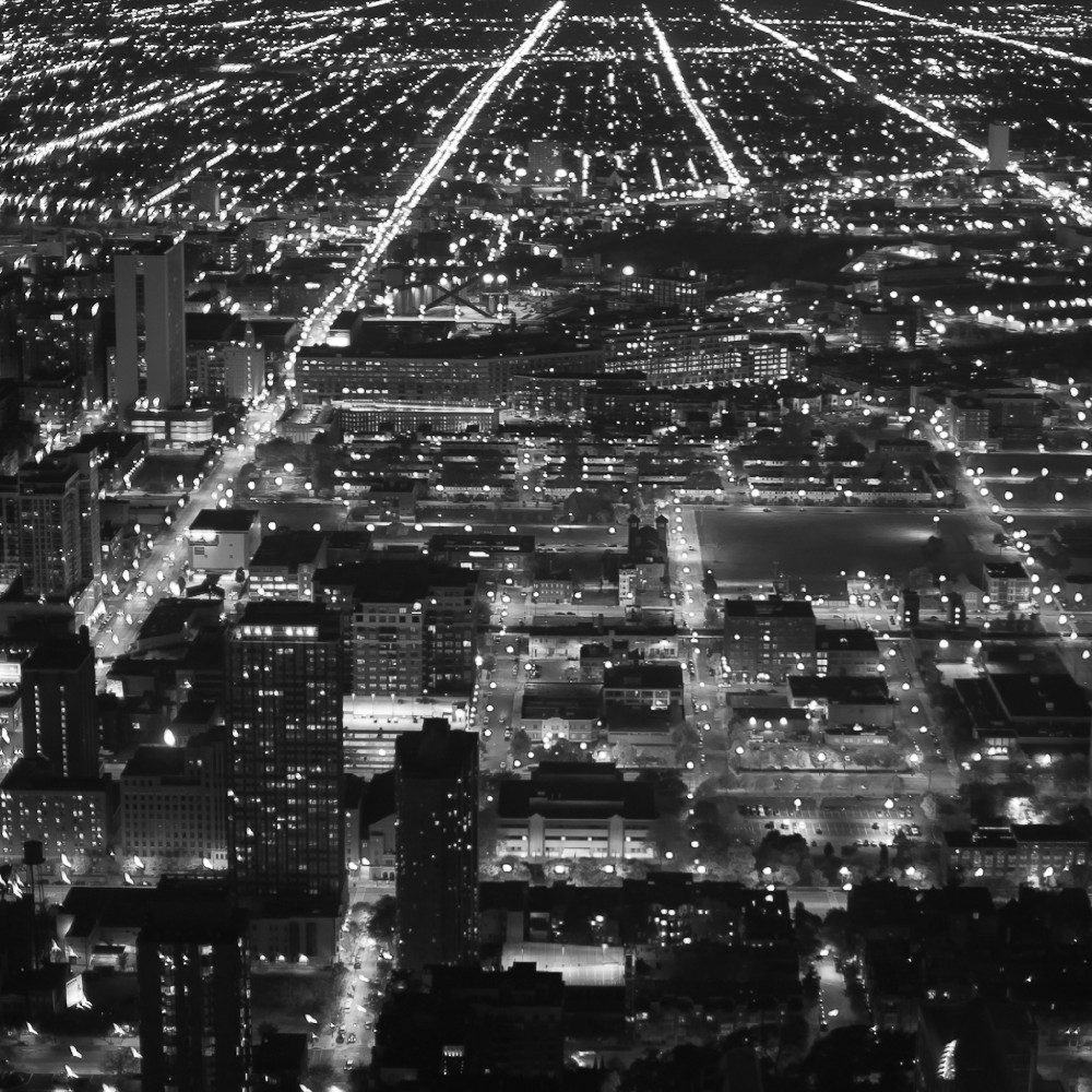 Looking South, Chicago, Illinois ( cc )