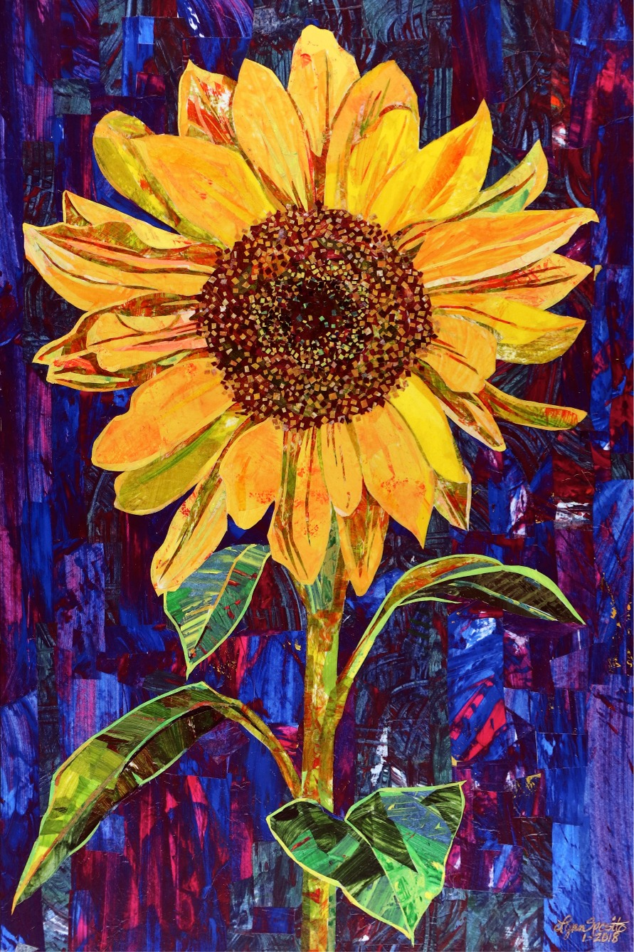Her Favorite Color Was Yellow- Original SOLD, Giclee' prints available