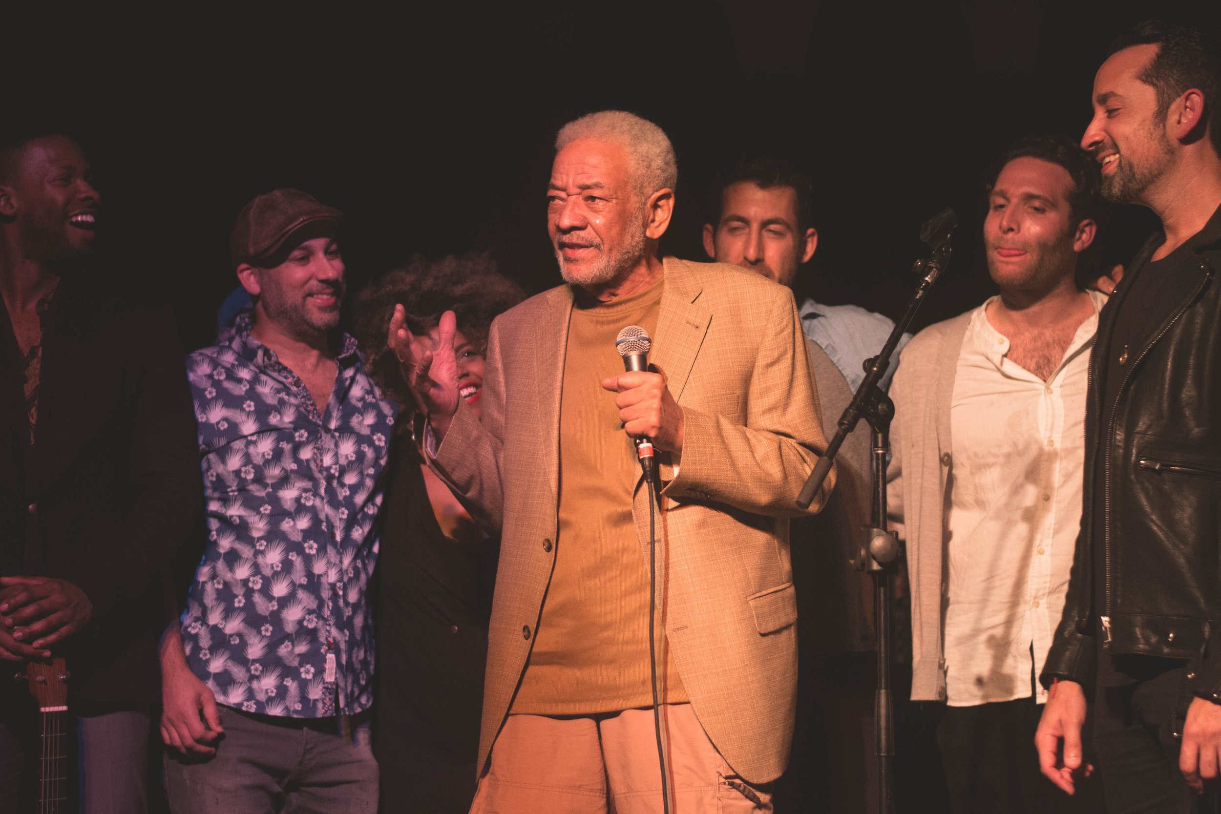 On Stage With Bill Withers, 2018