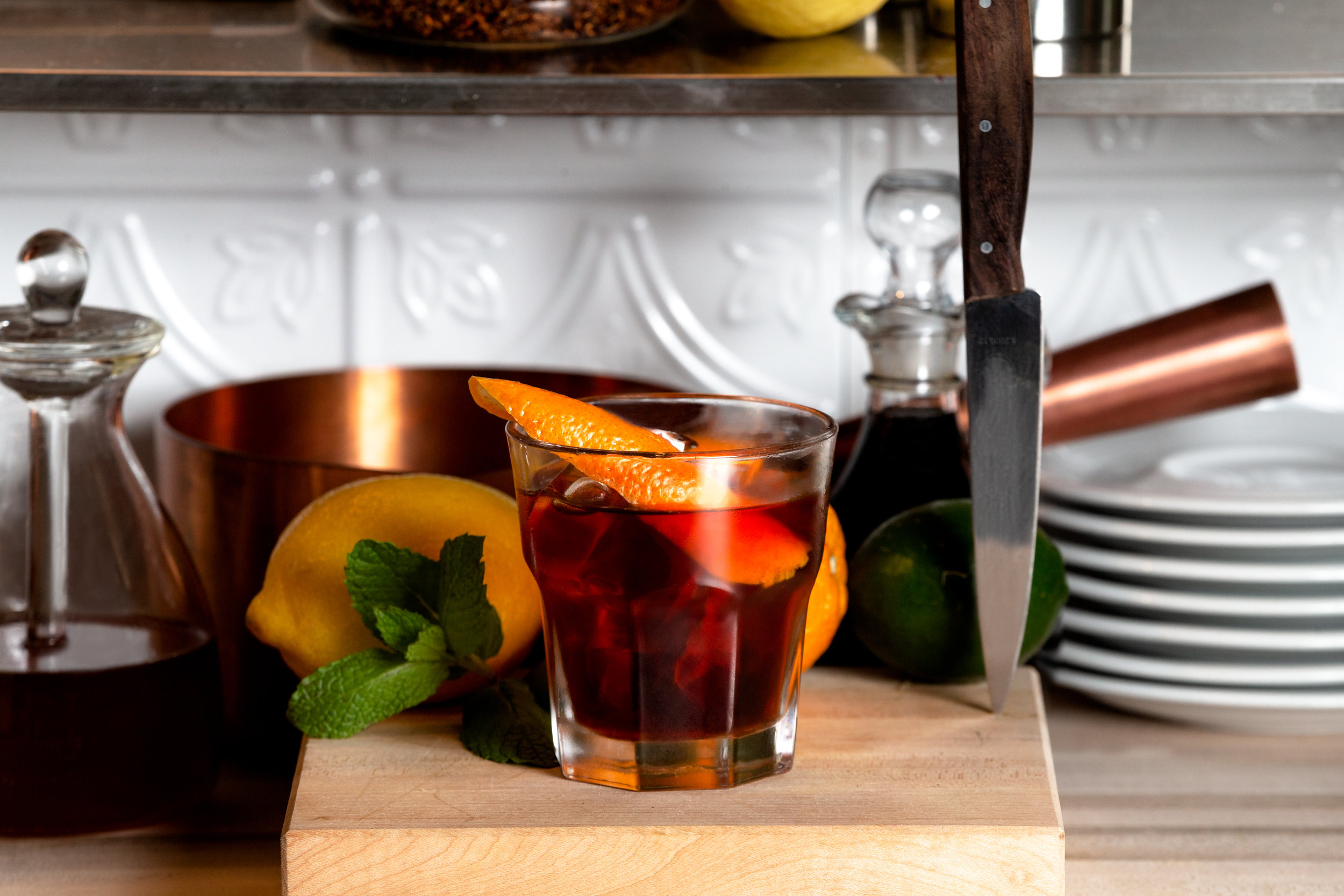 Kyoto Cold Brewed Old Fashioned