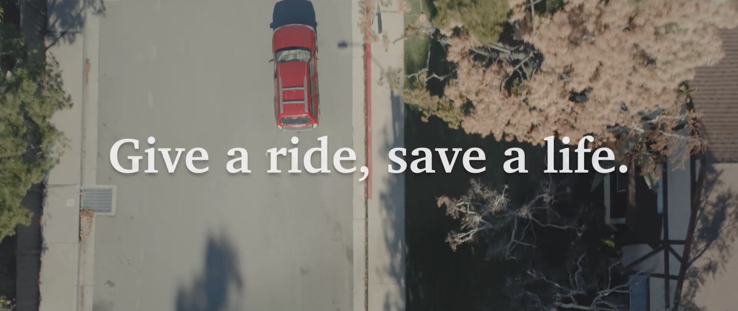American cancer society - Developed video campaign for ACS's Road to Recovery program that helps patients seamlessly find transportation to their treatments.