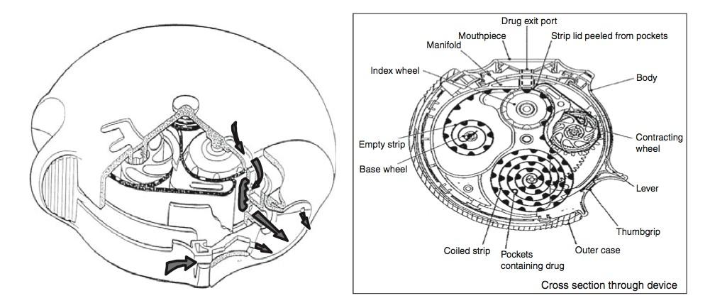 Figure 1 - The Diskus Inhaler [1]