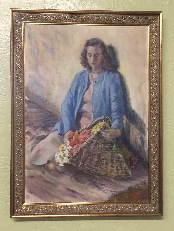 Oil paintings -