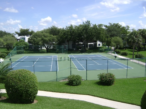 Clay & Hard Tennis Courts - We have several clay and hard tennis courts for our students and tennis instructors to practice on.