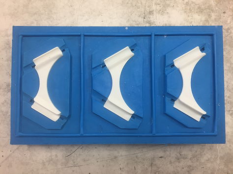 Urethane Castings - We use various urethane compounds to create molded parts mimicking true production materials–without the tooling investment or long lead time. This process produces first shots within a few days.