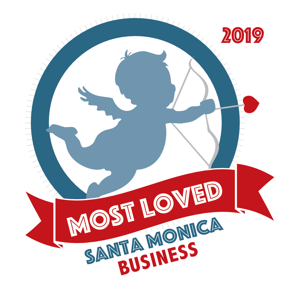 Proud to be voted Santa Monica's Most Loved New Business! -