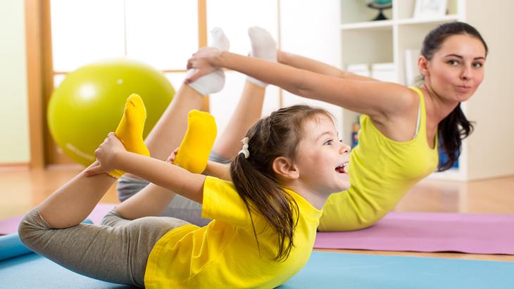 Yoga Parents-enfants - Mercredis16H00 -17H00