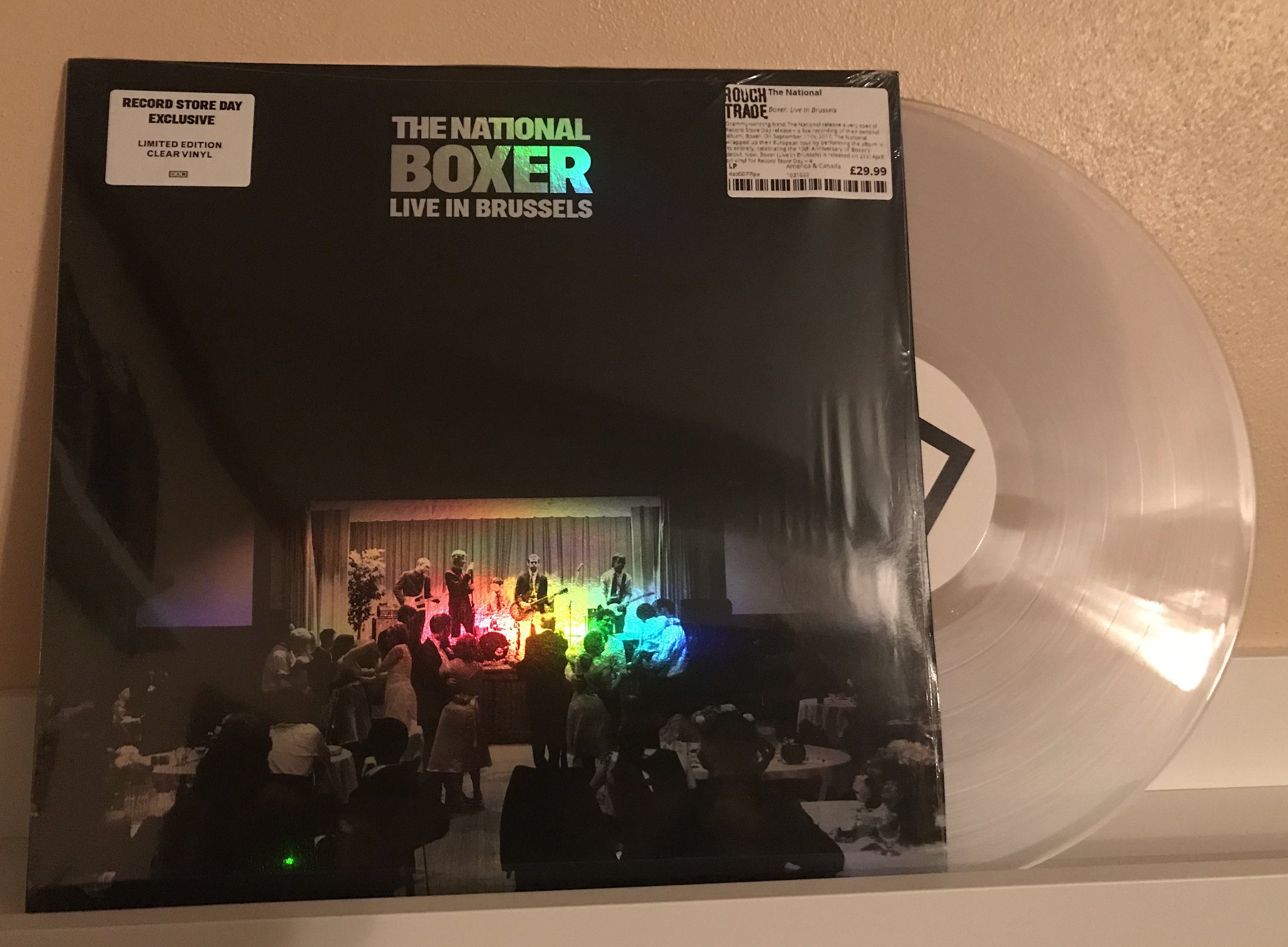 The National - Boxer: Live in Brussels (2018 Record Store Day Exculsive)