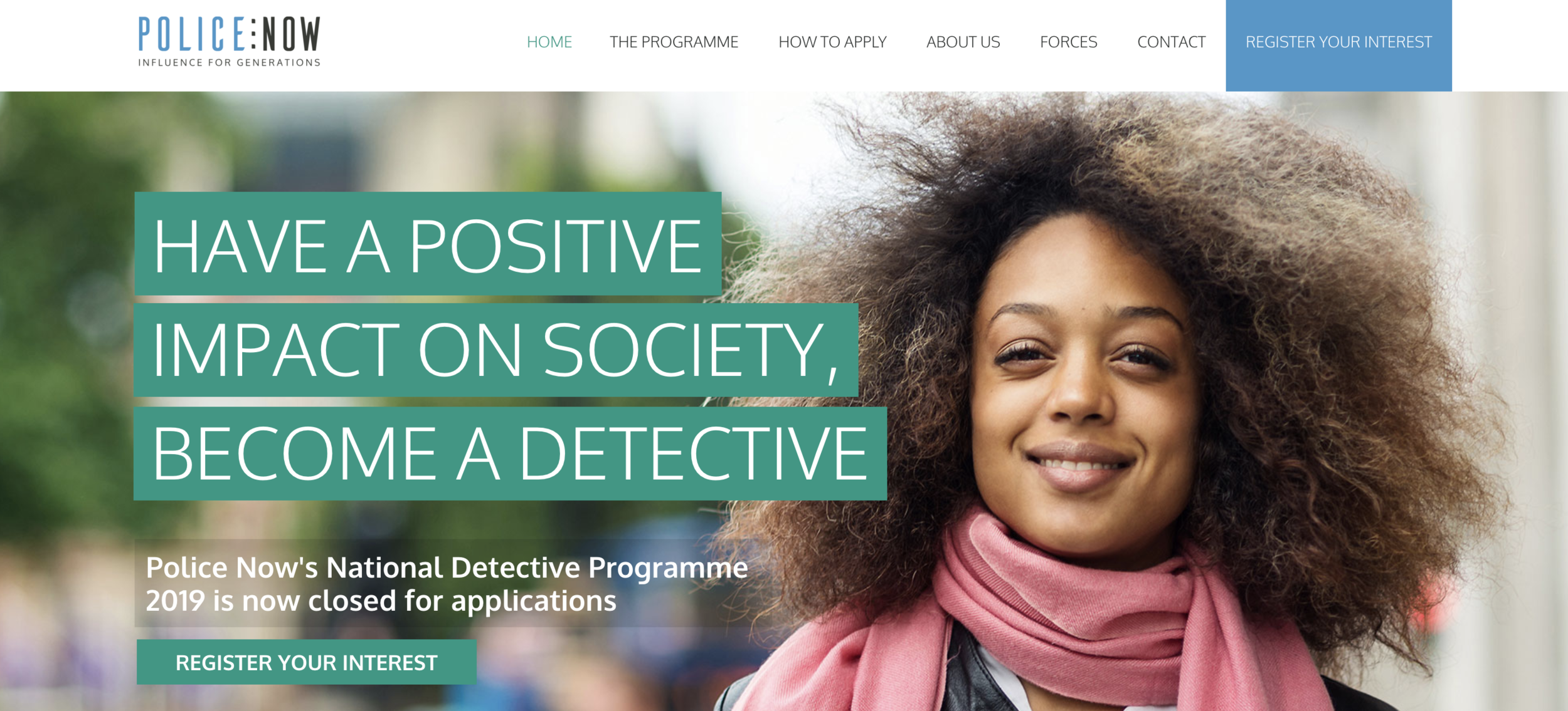 Working in partnership with Renegade Agency, we created the ' Do You Notice? ' employer brand campaign to support the launch of Police Now's National Detective Programme.