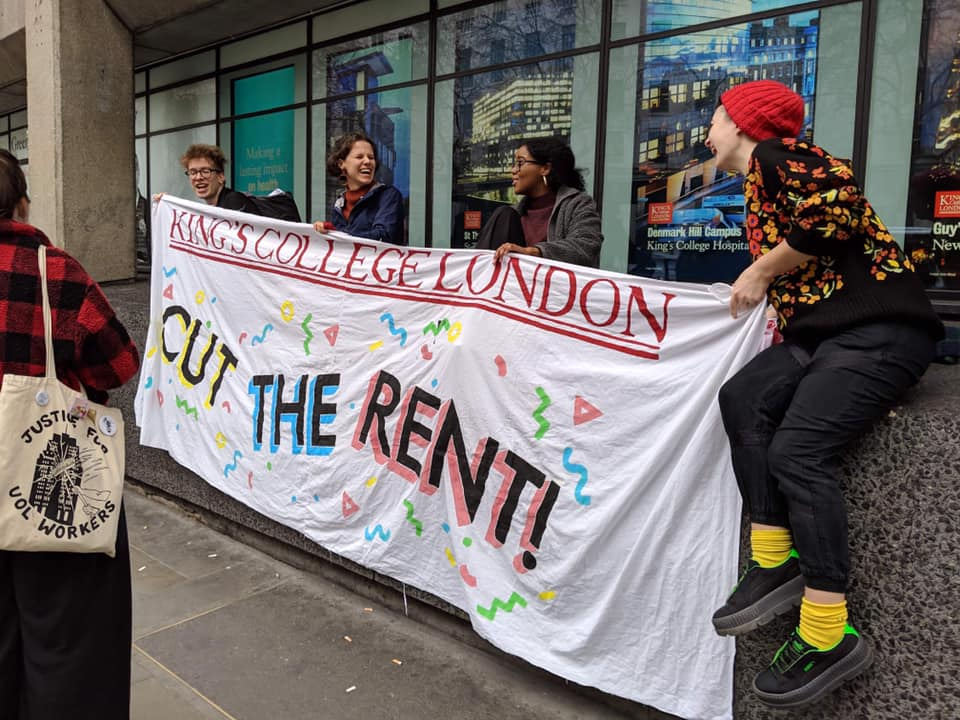 KCL Cut the Rent - kclcuttherent@riseup.nethttps://www.facebook.com/kclcuttherent/https://twitter.com/kclctr