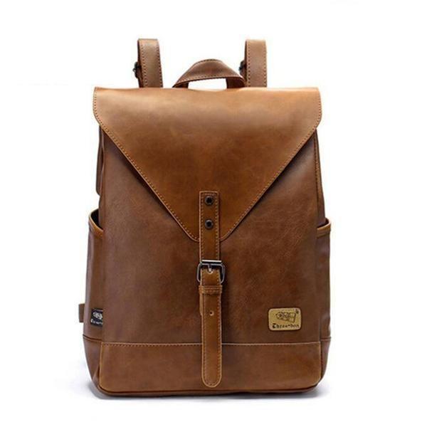 Spark Vintage Leather Backpack