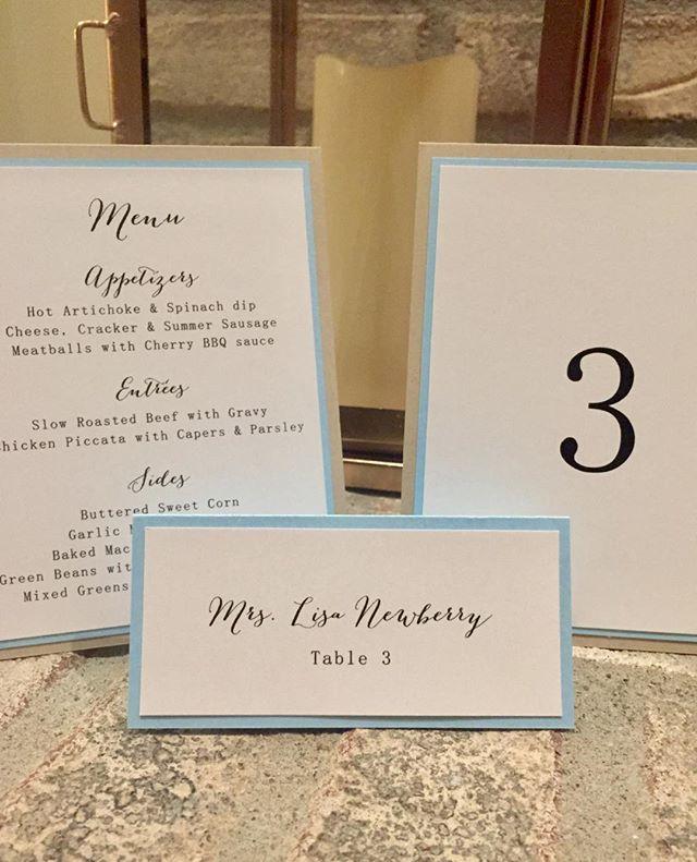 I am a guest!! After all these years...kind of fun making my own escort card! #ohiobrides #columbusbrides #weddingplanning #michiganweddingvenue