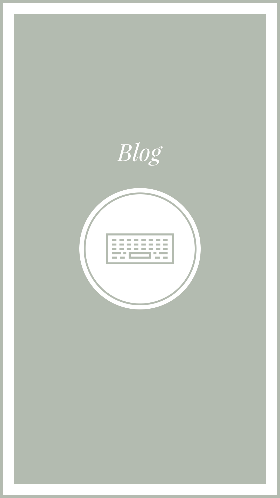 Instagram Blog Highlight