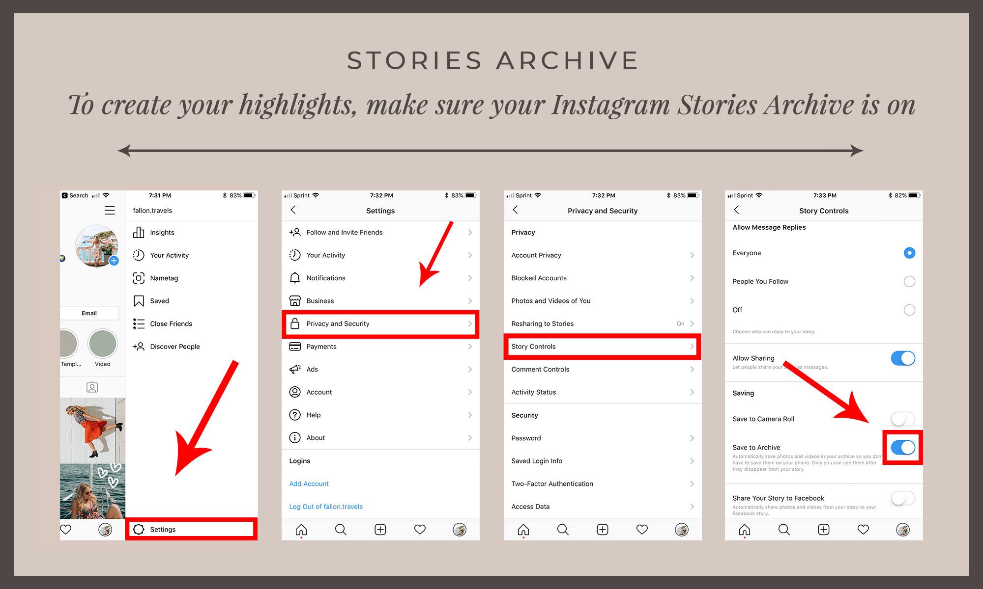 Instagram Stories Archives